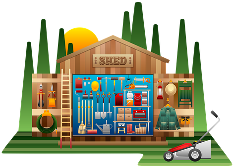 What is old school lawn supplies lawn products for Gardening tools for schools